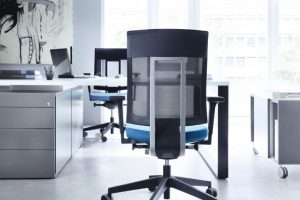 task chair with arms xenon net chair blue scene x