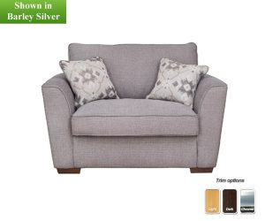 taupe accent chair buoyant fantasia love chair