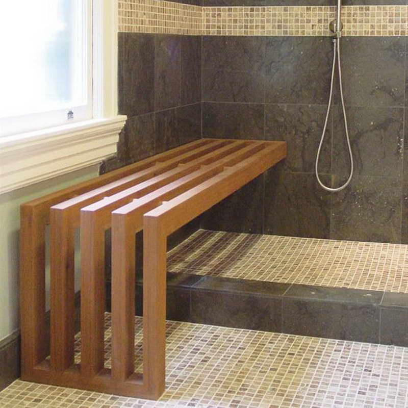 teak shower chair