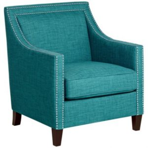 teal accent chair y