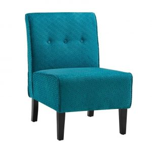 teal accent chair l