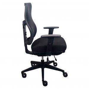 tempurpedic office chair tempur pedic fabric back tp f