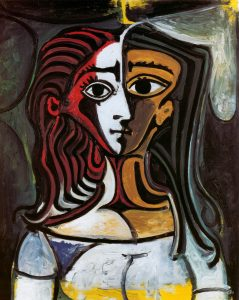 tete a tete chair pablo picasso paintings