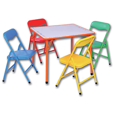 toddler folding table and chair