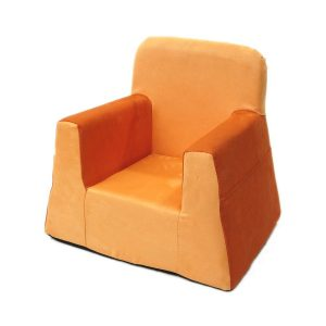 toddler lounge chair little reader orange