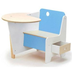 toddler table and chair offi kids doodle drawer desk blue