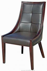 tufted leather dining chair r br accent chairbdb