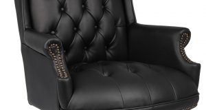 tufted office chair b bk