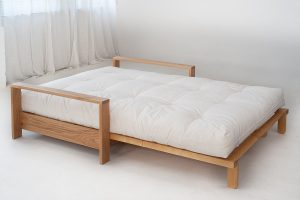 twin bed chair panama down with futon mattress