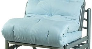 twin futon chair light blue double futon chair idea