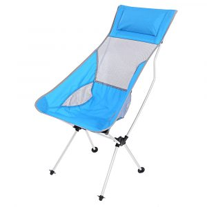 ultralight camp chair ultralight folding chair rocking aluminum alloy moon chair with bag lightweight for outdoor camping picnic fishing