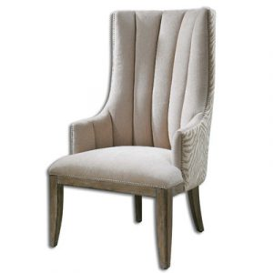unique accent chair uttermost zyla chenille arm chair