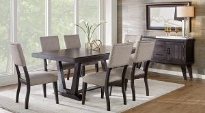 unique dining chair dr rm hillcreek black chrs ~hill creek black pc rectangle dining room