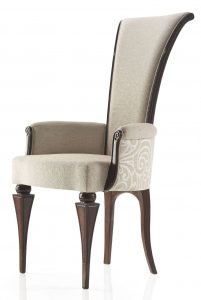 unique dining chair high back low arm italian contemporary style carver dining chair p