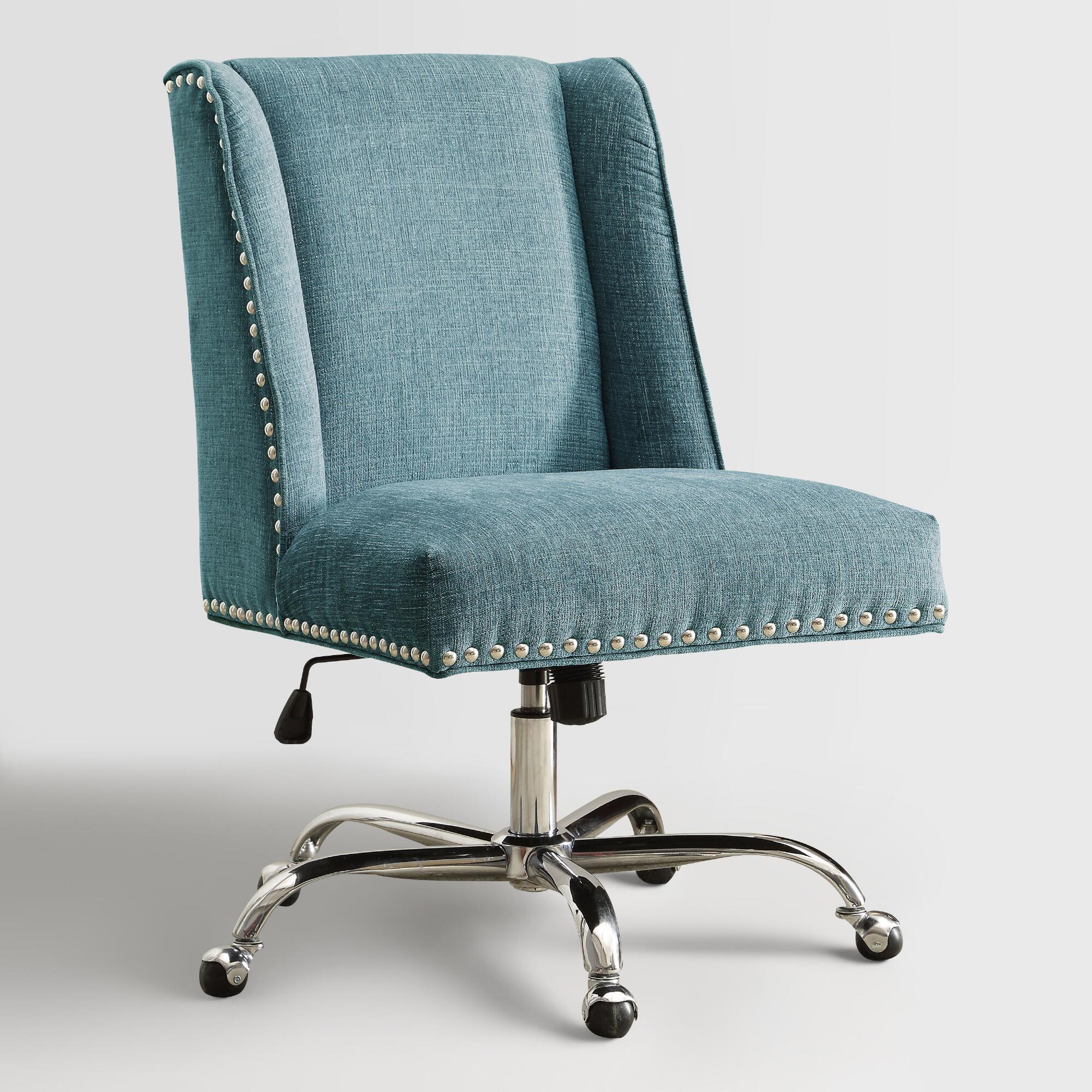 upholstered desk chair