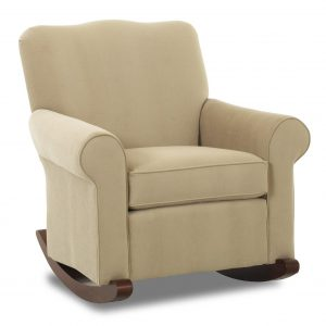 upholstered rocking chair klaussner chairs and accents c b