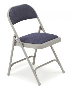 upholstered swivel chair metal padded office folding chairs