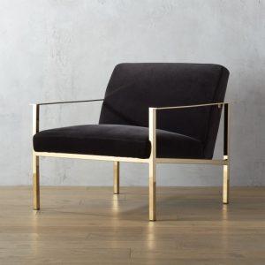 velvet accent chair cuechairbrassdarkgreyshf x