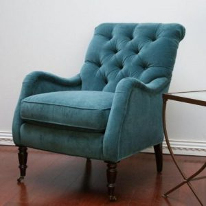 velvet wingback chair bcac z