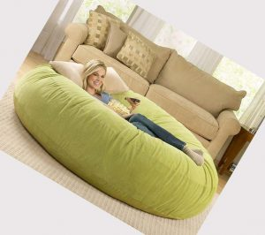 vinyl beanbag chair bean bag bed