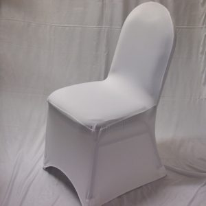 white chair covers white roud top chair cover