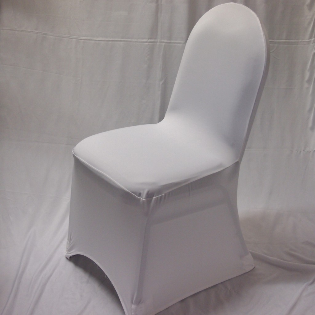 white chair covers