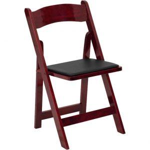 white foldable chair chair folding wood mah