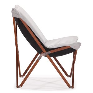 white foldable chair zuo modern
