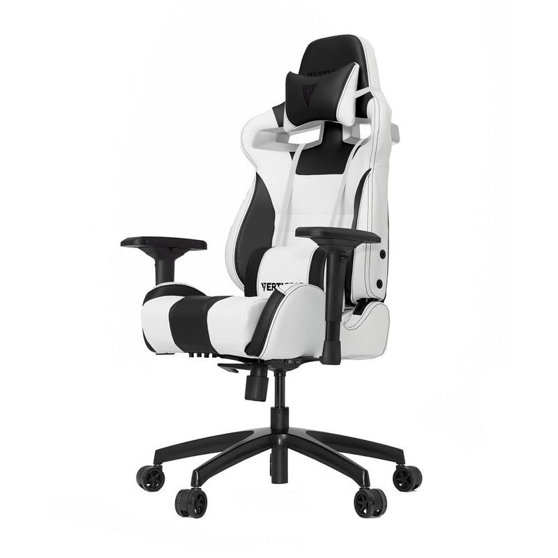 white gaming chair