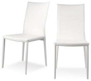 white metal dining chair modern dining chairs