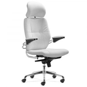 white office chair boss white leather office chair
