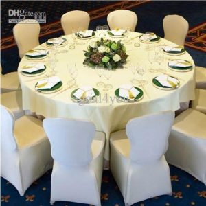white spandex chair covers x