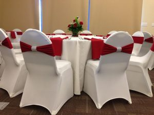 white spandex chair covers luxurious white bridal folding chair covers spandex with red ribbons