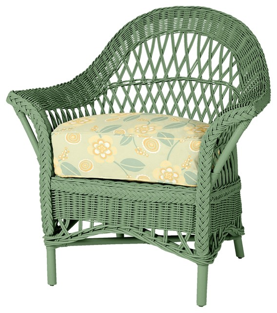 wicker chair outdoor