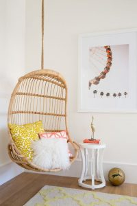 wicker chair outdoors a rattan suspended chair is great for a teenage girl bedroom