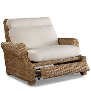 wicker chair repair recliner cuddle chair