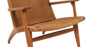 wicker lounge chair z