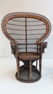 wicker peacock chair dsc