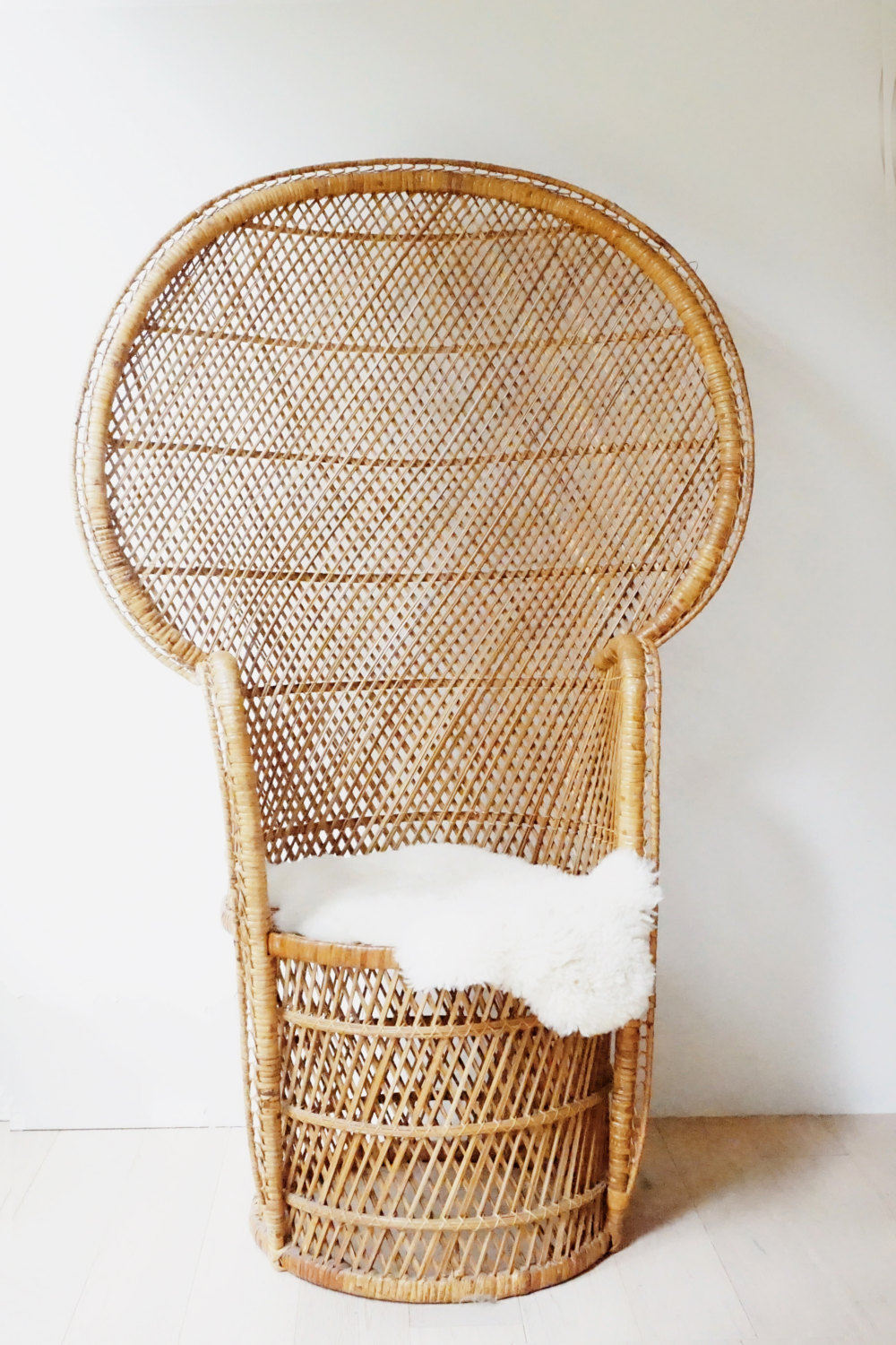 Exceptional Wicker Peacock Chair #21 - Wicker Peacock Chair