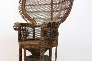 wicker peacock chair rattan peacock chair s wb z