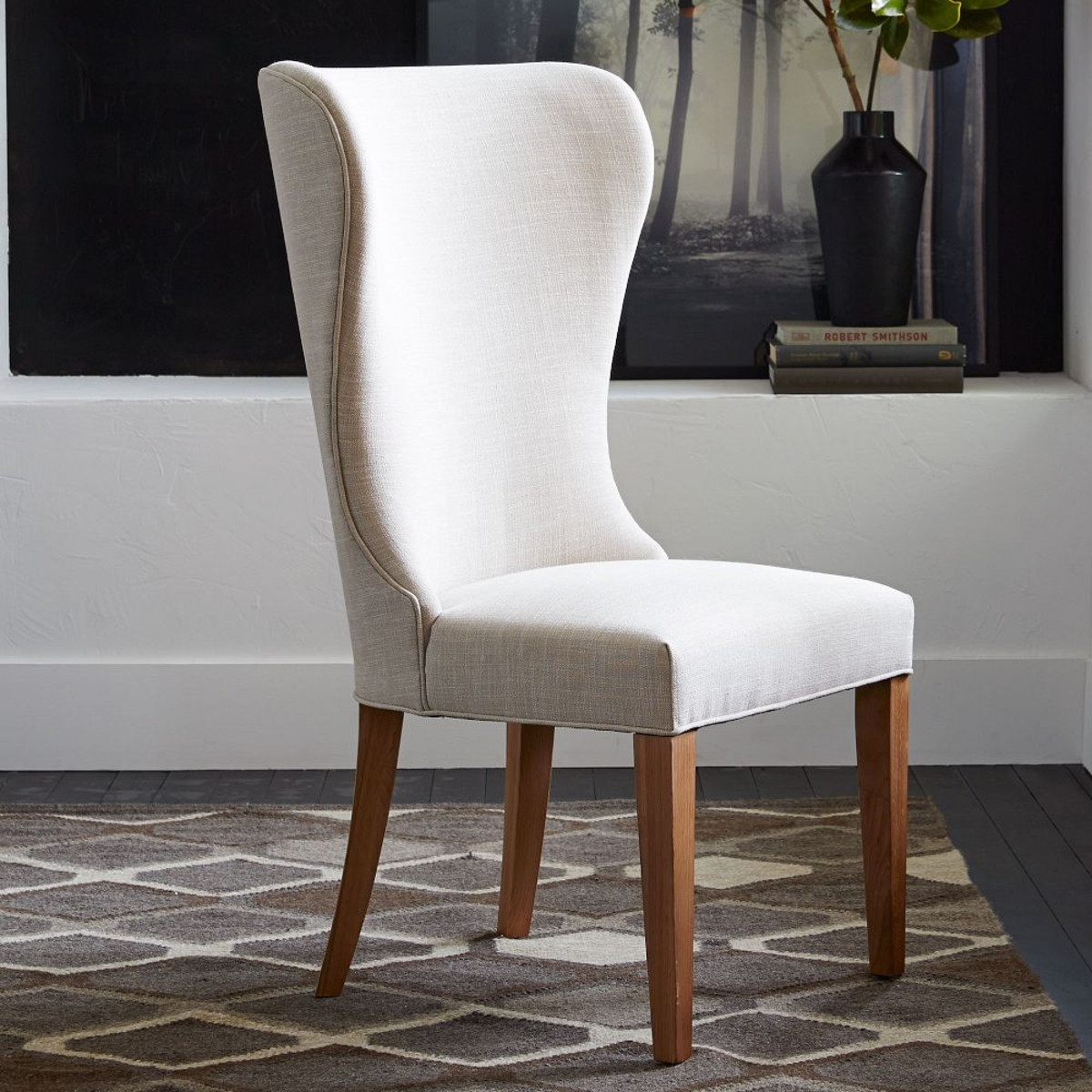 wingback dining chair