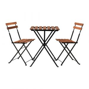 wood folding table and chair tarno bistro set pe s