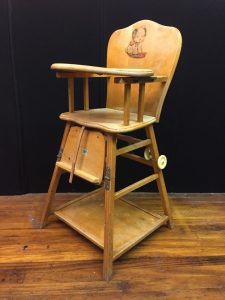 wood high chair for baby s l