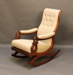 wood rocking chair for nursery htc mahogany rocking chair