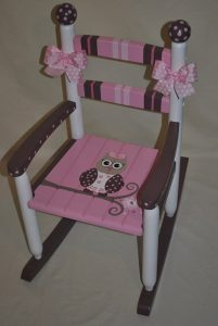 wood rocking chair for nursery il xn