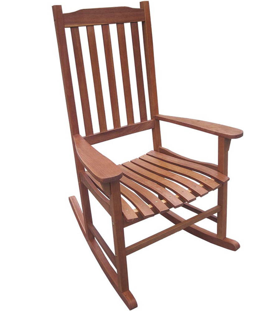 wood rocking chair