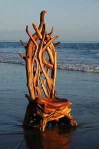 wooden beach chair driftwood furniture beautiful chair