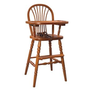 wooden high chair file