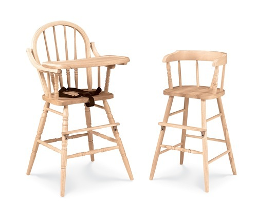 wooden high chair for babies