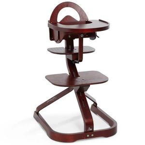 wooden high chair with tray s svan signet high chair complete mahogany